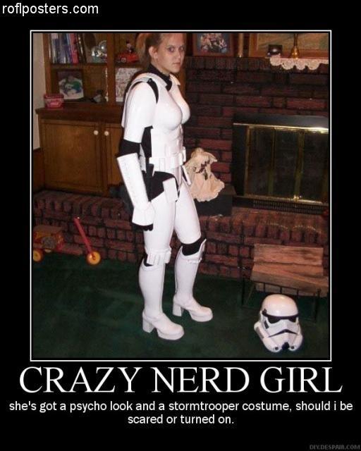 Crazy Nerd Girl
