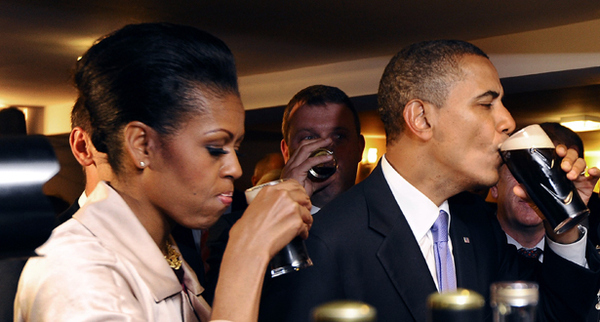 Michelle Obama Hates Guinness