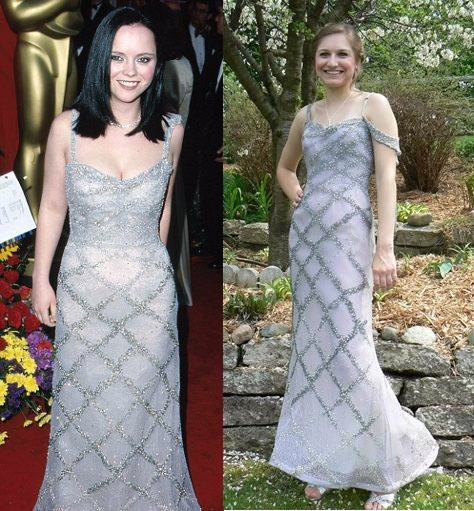 Now That's Glam! Teen Wears $25,000 Christina Ricci Dress At High School Prom