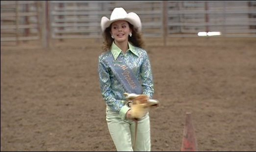 Herpes Forces Rodeo Queens to Ride Stick Ponies.