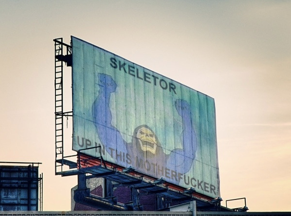 Skeletor Up in This...