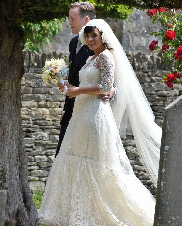 Lily Allen's Wedding Dress