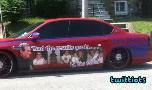 """Maury Inspired """"I'm the Father"""" Lowrider"""