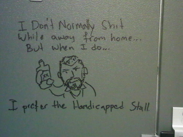 Toilet Advice From The Dos Equis Man