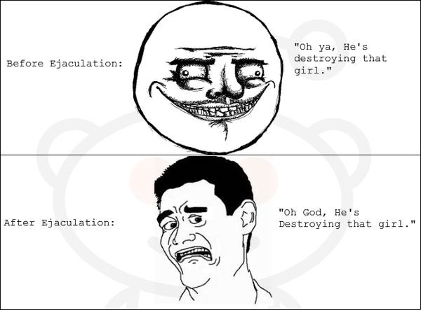 Ejaculation Realization (NSFW)