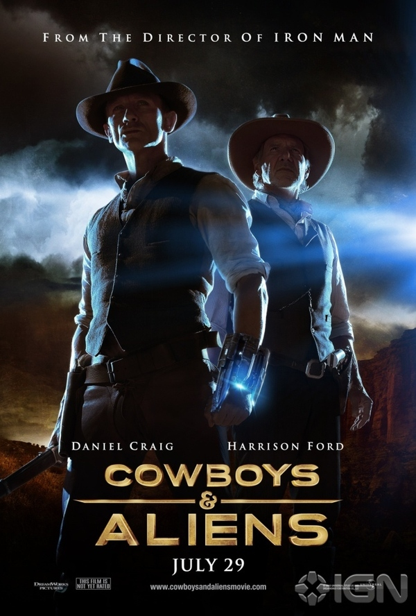 New Poster For Cowboys & Aliens