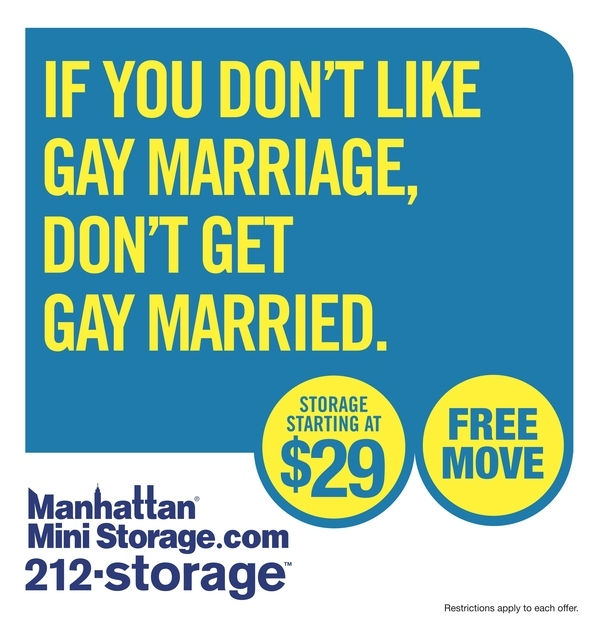 If You Don't Like Gay Marriage, Then Don't Get Gay Married.
