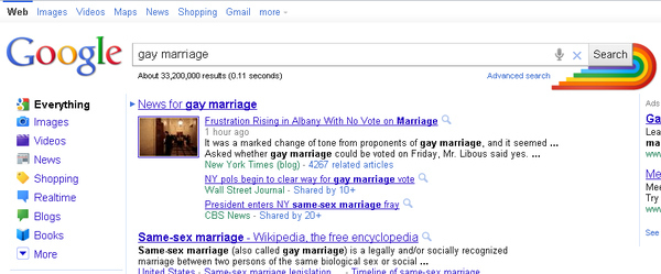 Google's Support of Marriage Equality