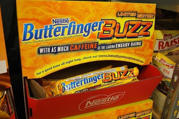 Butterfinger, Now With Added Caffeine!
