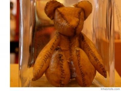 Cute Teddy ... Wait!