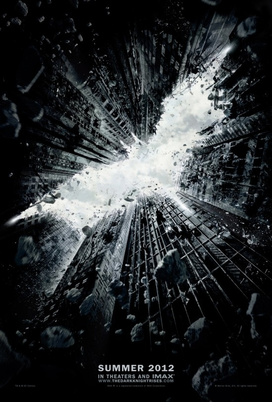 'The Dark Knight Rises' Teaser Poster