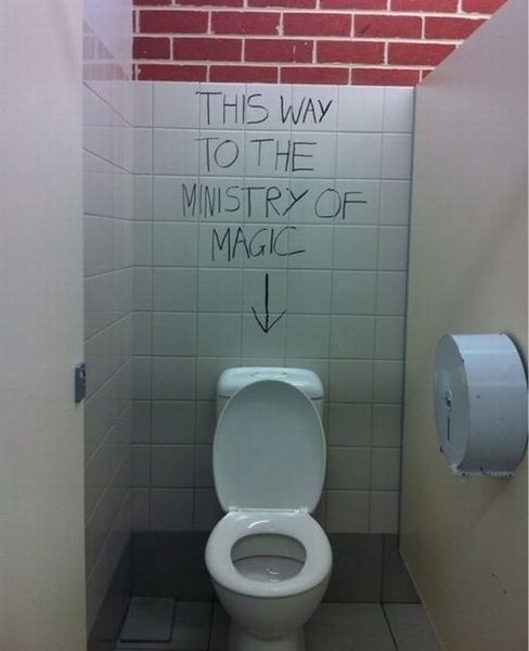 This Way To The Ministry of Magic