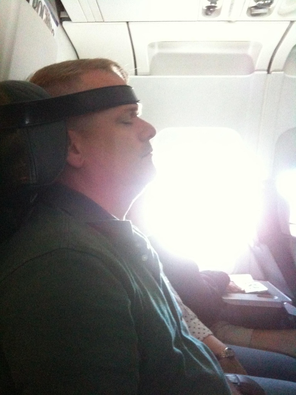 How To Sleep On The Plane