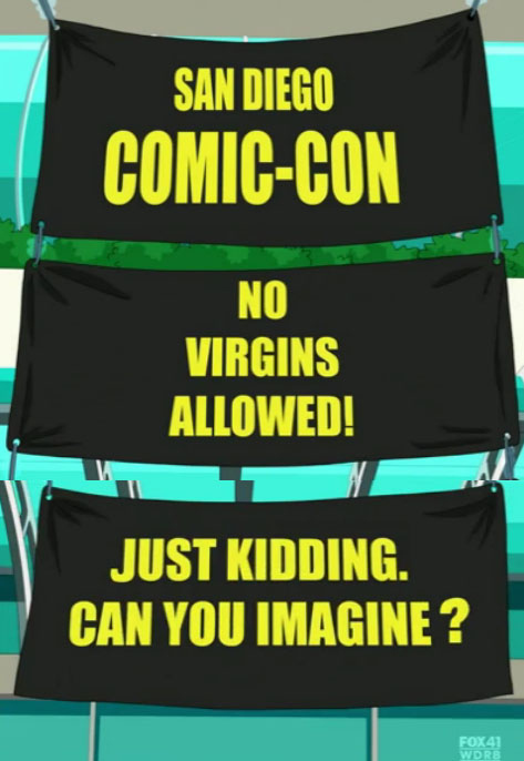 Welcome To Comic Con!