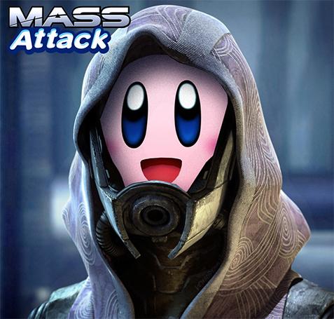 Kirby Mass Attack!