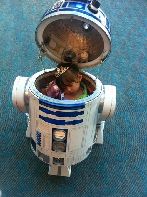 R2-D2 Is Actually A Little Princess