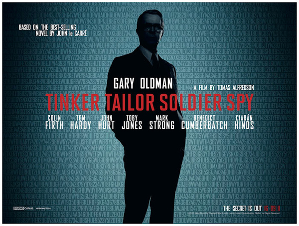 New Poster For 'Tinker, Tailor, Soldier, Spy'