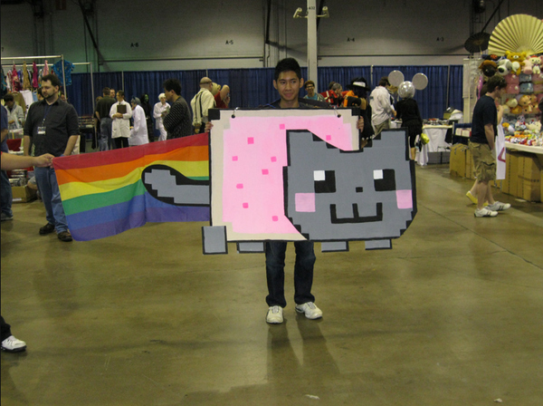 Nyan Cat Cospaly
