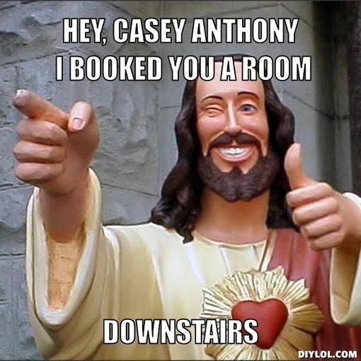 Jesus Books a Room