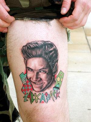 Someone Got A Tattoo Of Zack Morris