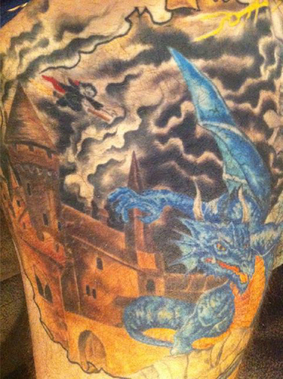 NHL Player Has Elaborate and Impressive Harry Potter Tattoo