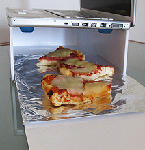 Cook Your Pizza With This MacBook Microwave!