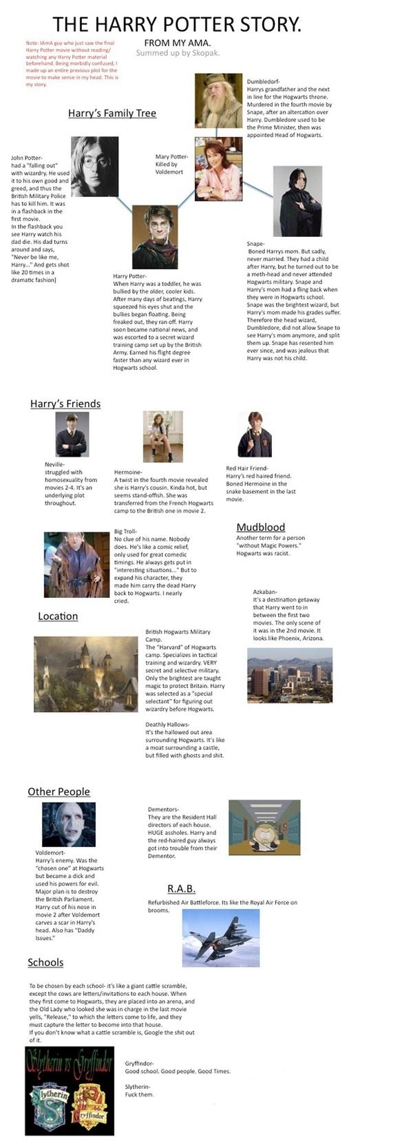 Harry Potter, Abridged: A Non-Fan's Interpretation of the Series