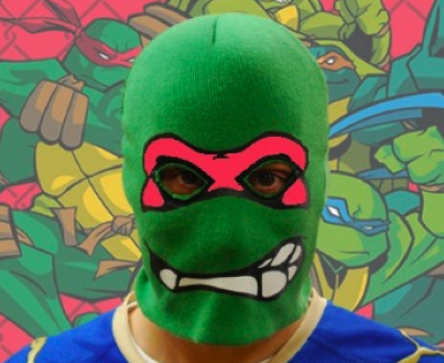 Ninja Turtle Robs Wendy's In Wisconsin