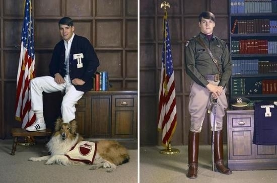 Rick Perry's Texas A&M Class Photos
