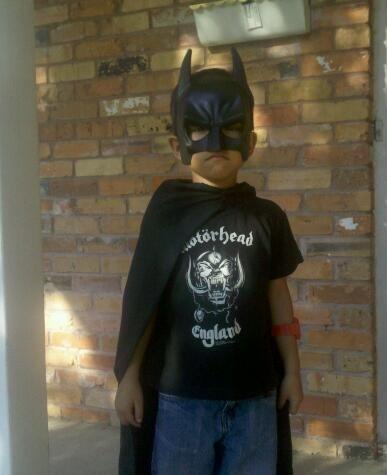 Batman Is Ready For School