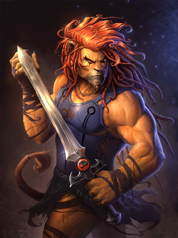 This Lion-O Doesn't Mess Around