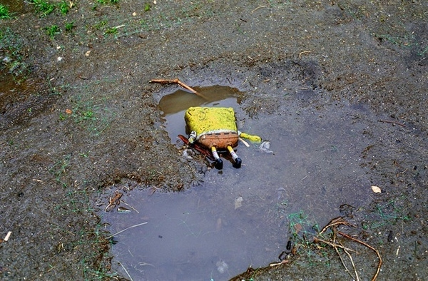 SpongeBob SquarePants Found Murdered