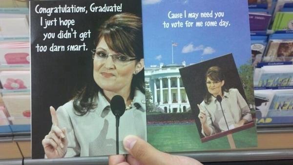 Sarah Palin Congrats to Graduates