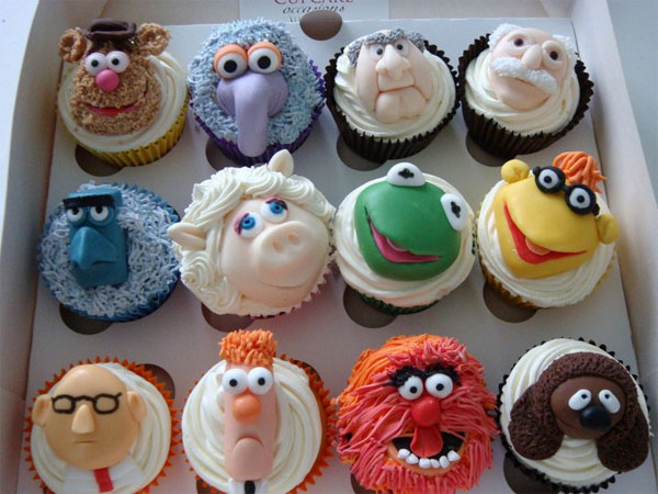 Muppet Cast Cupcakes