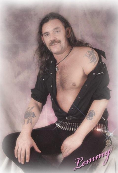 Lemmy's Glamour Shot