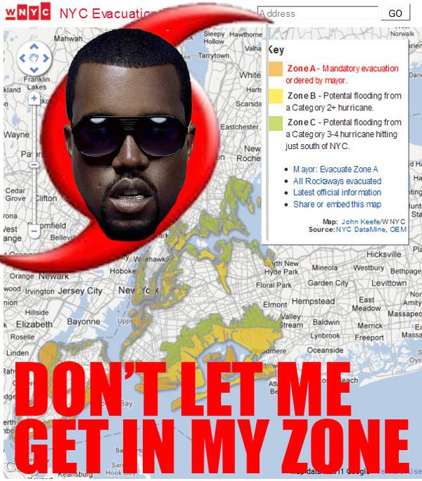 Kanye West's Hurricane Zone