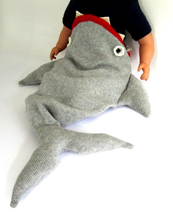Shark Sleeping Bag For Infants