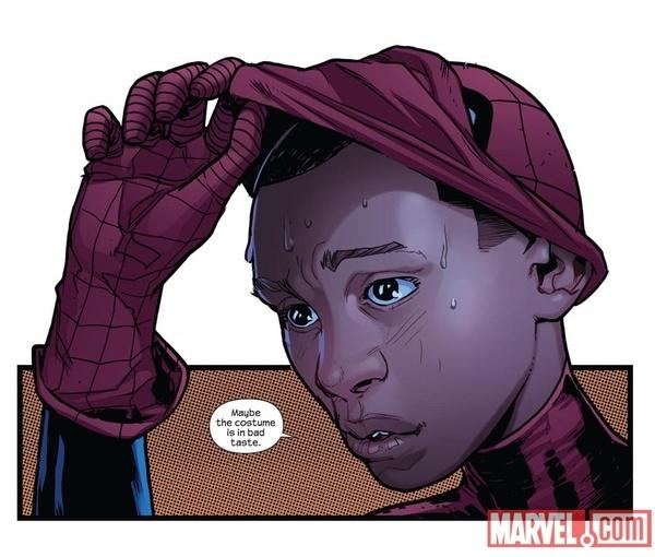 Spider-Man is Black???