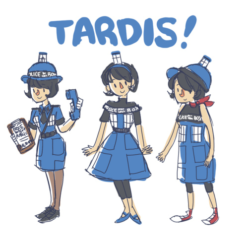 Dress Like A TARDIS