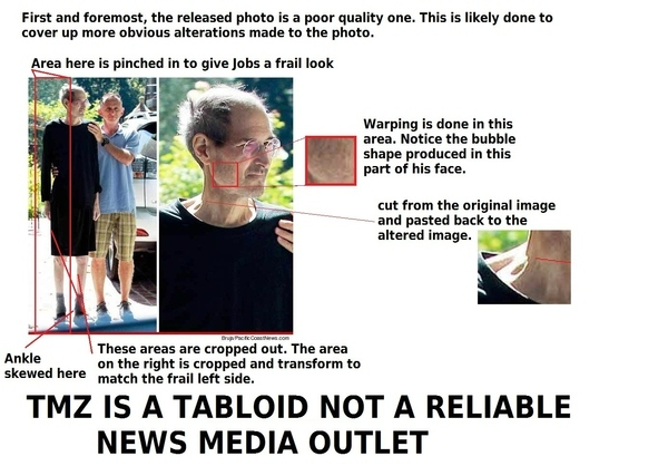 Are These Photos Of Sick Steve Jobs Really Fakes?