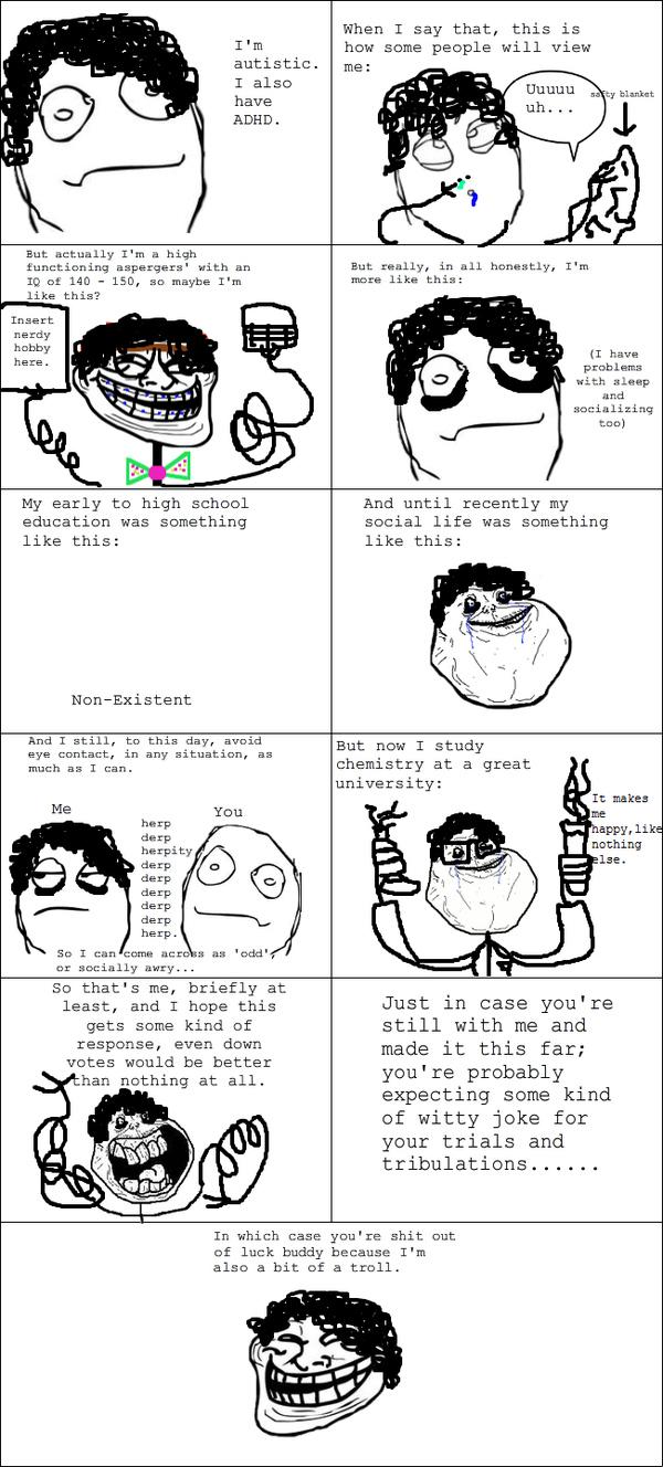 I'm Autistic