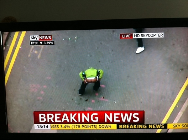 Breaking News From London Riot