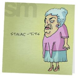 Stalac-tits