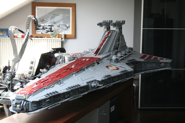 Lego Star Destroyer Is 43,000 Pieces