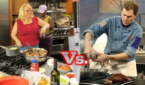 Mother of 4 Natalie Miller VS Iron Chef Bobby Flay