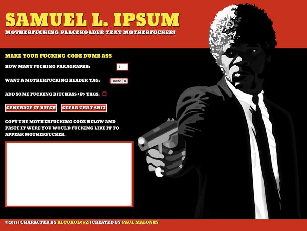 Samuel L. Ipsum