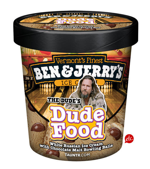 Ben & Jerry's Big Lebowski Ice Cream