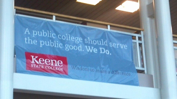 "Keene State Serves the Public ""good."""