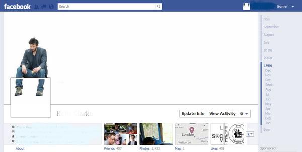 Sad Keanu Facebook Timeline