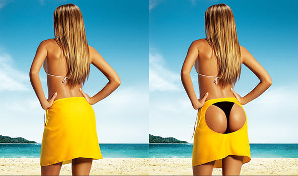 The Perfect Butt Thanks to Photo-shop